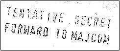 MAJCOM Stamp