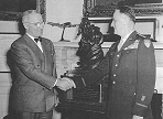 Truman, Spaatz, 1945