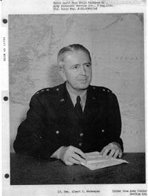 General A.C. Wedemeyer